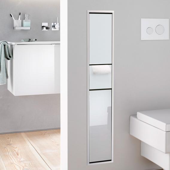 Emco Asis Unterputz-WC-Modul optiwhite/aluminium