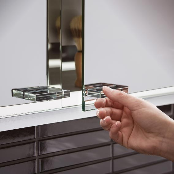 Emco Prestige 2 Unterputz-Lichtspiegelschrank mit 3 Türen