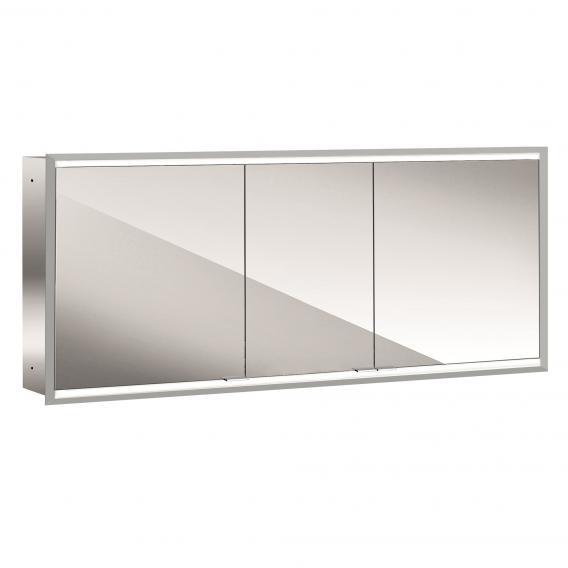 Emco Prime2 Unterputz LED-Lichtspiegelschrank, 3 Türen