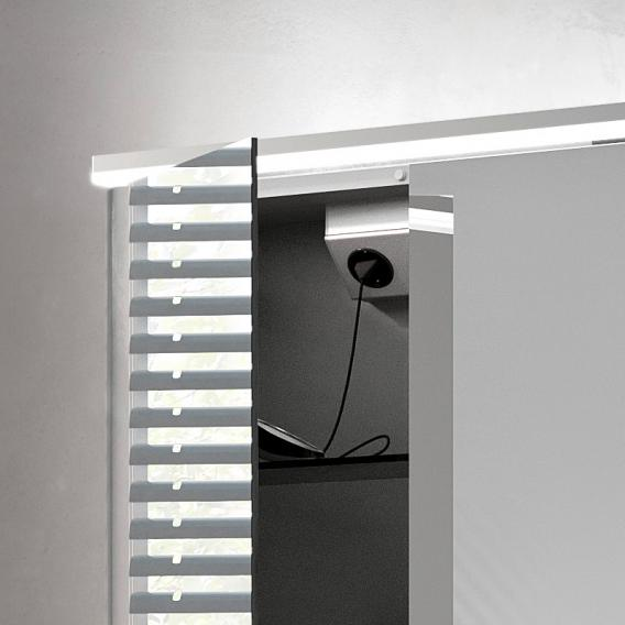 Emco Pure_Flat Aufputz Lichtspiegelschrank
