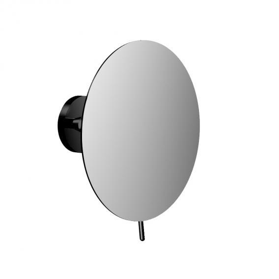 Emco Round Wandkosmetikspiegel schwarz