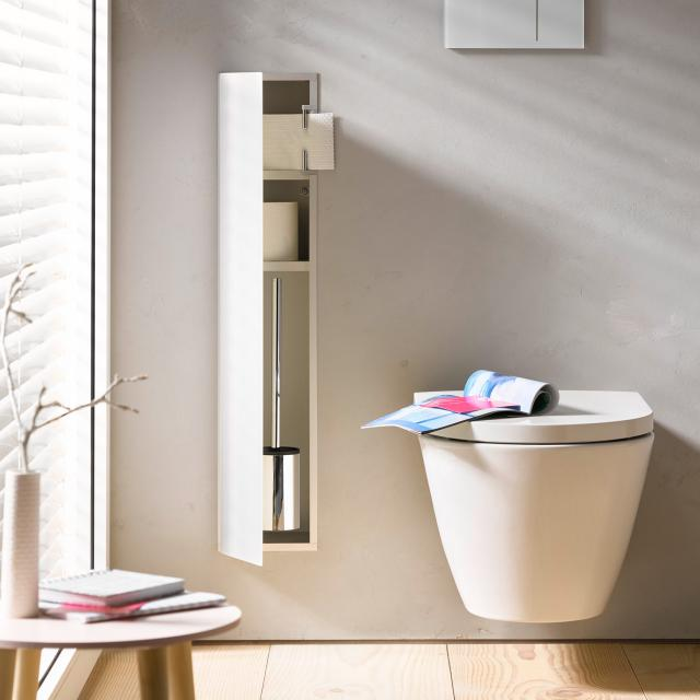 Emco Asis 2.0 Unterputz-WC-Modul optiwhite, Anschlag links