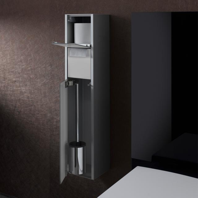 Emco Asis Aufputz-WC-Modul optiwhite/aluminium