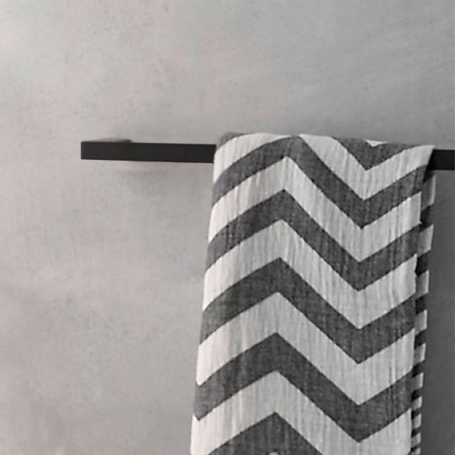 Emco Loft Badetuchhalter schwarz matt
