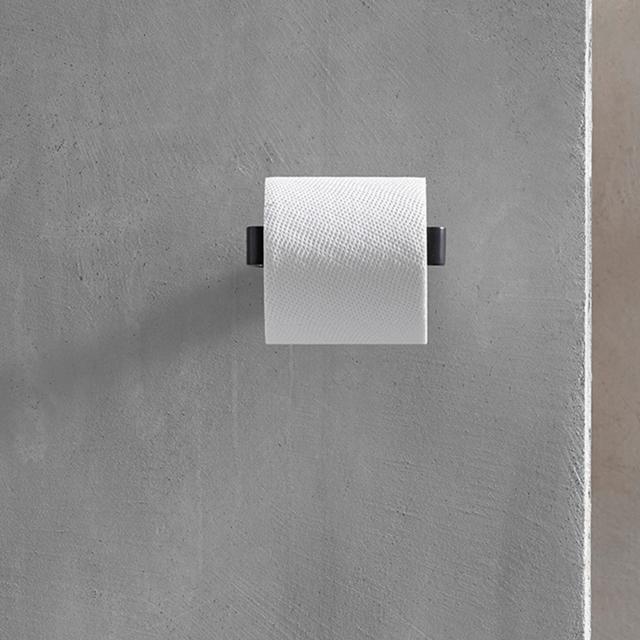 Emco Loft Papierhalter ohne Deckel schwarz matt