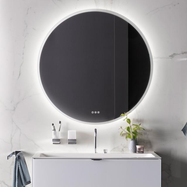 Emco Pure++ Spiegel mit LED-Beleuchtung ohne Spiegelheizung