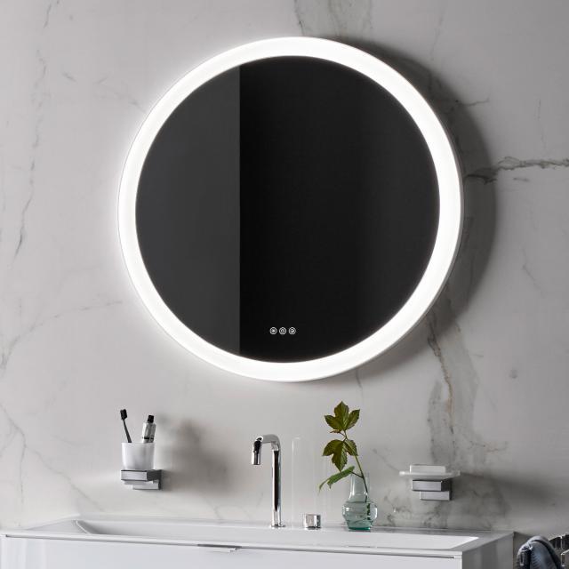 Emco Round Spiegel mit LED-Beleuchtung