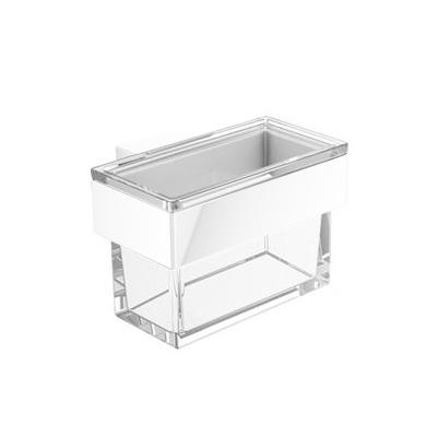 Emco Vara Design Glasbehälter für Seifenspender oder Utensilienbox