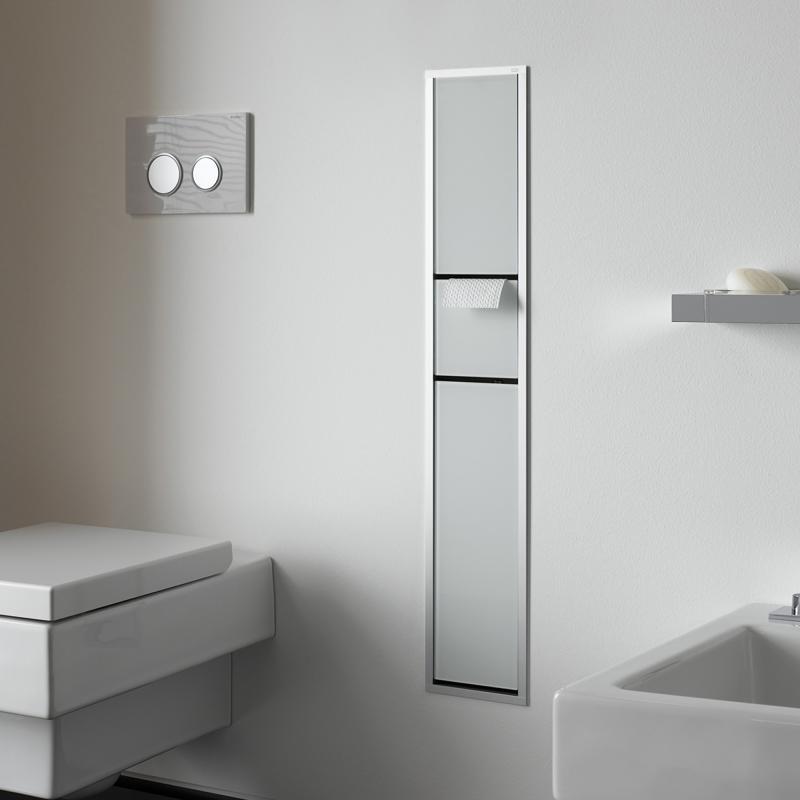emco asis unterputz g ste wc modul optiwhite aluminium 976027470 reuter. Black Bedroom Furniture Sets. Home Design Ideas