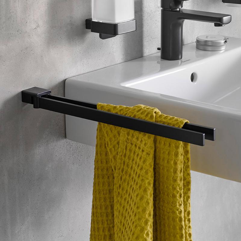 Emco Loft Handtuchhalter schwarz