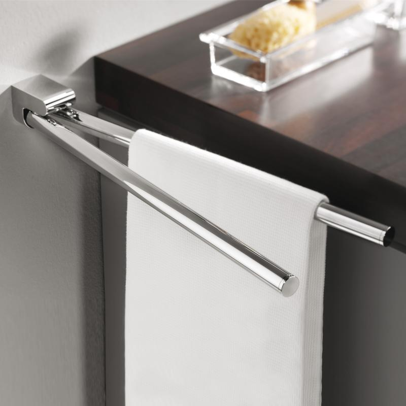 emco mundo handtuchhalter chrom 335000146 reuter. Black Bedroom Furniture Sets. Home Design Ideas