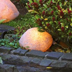 Epstein-Design Steinleuchte Bodenleuchte
