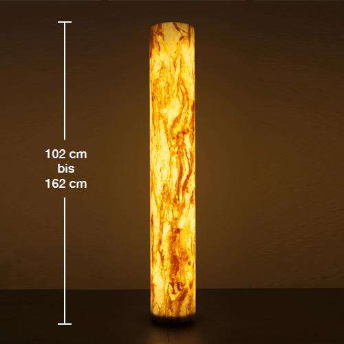 Epstein-Design Sahara Turm LED Pollerleuchte mit Bewegungsmelder