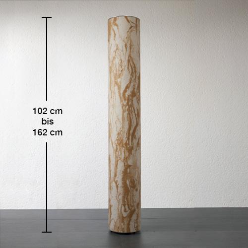 Epstein-Design Sahara Turm Pollerleuchte mit Bewegungsmelder
