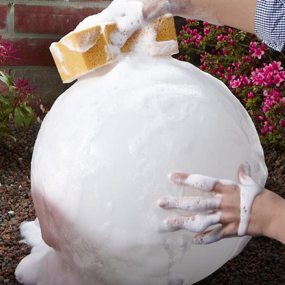 Epstein-Design Snowball ortsfeste Bodenleuchte mit Bewegungsmelder