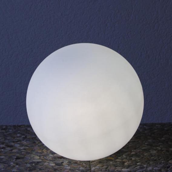 Epstein-Design Snowball ortsveränderliche Bodenleuchte mit Bewegungsmelder