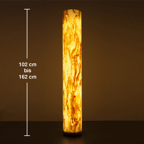 Epstein-Design Sahara Turm LED Pollerleuchte mit Dämmerungsschalter