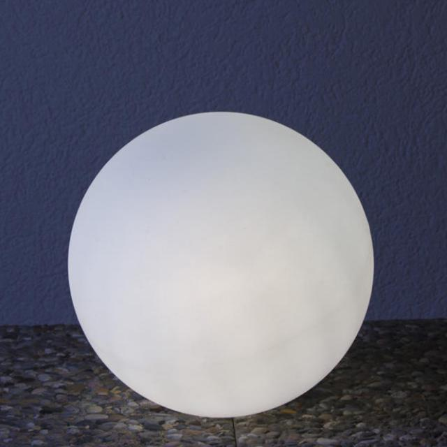 Epstein-Design Snowball ortsveränderliche Bodenleuchte
