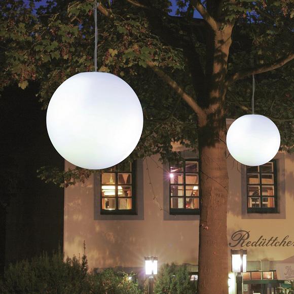 Epstein-Design Snowball Pendelleuchte mit Bewegungsmelder