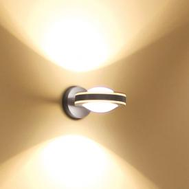 Escale VIO LED Wandleuchte 2-flammig mit Linse/Linse