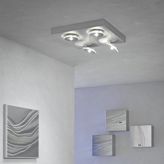 Escale Spot it LED Deckenleuchte/Deckenspot 4-flammig, quadratisch