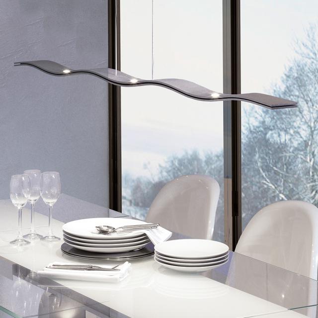 Escale Fluid LED Pendelleuchte, 7-flammig