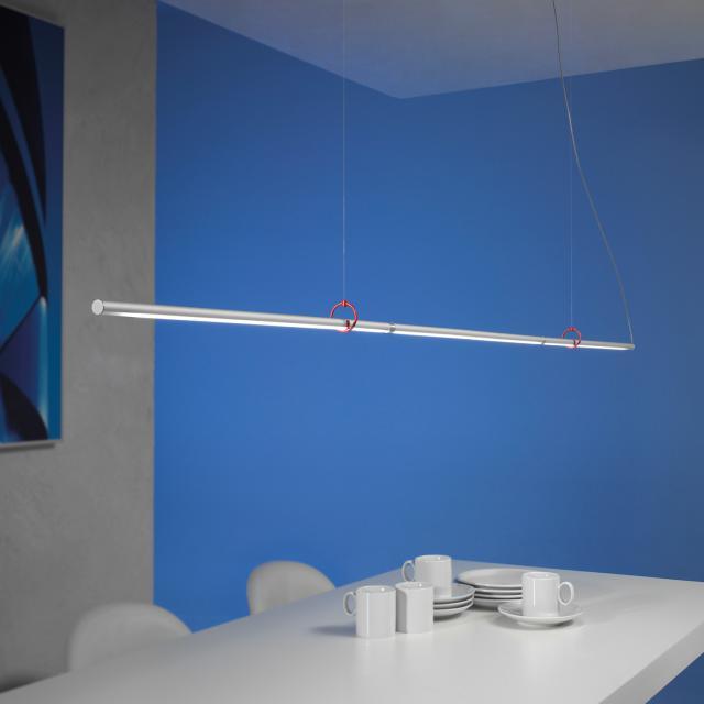 Escale Slimline LED Pendelleuchte vario