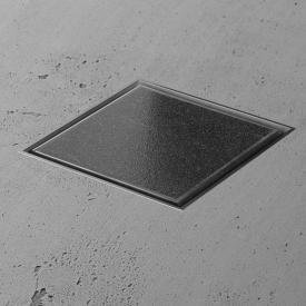 ESS Aqua Jewels Bodenablauf befliesbar, für Natursteinbeläge L: 20 B: 20 cm
