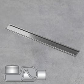 ESS Aqua Jewels Linea xs Bodenablauf inklusive Abdeckung edelstahl gebürstet, L: 40 cm