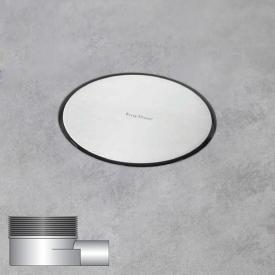 ESS Aqua Round Bodenablauf inklusive Abdeckung Ø 14.6 cm, waagerecht