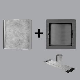ESS Container T-Box Wandnische, befliesbar edelstahl poliert