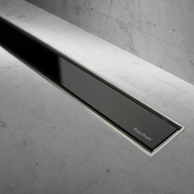 ESS Easy Drain Modulo TAF Zero+ Abdeckung für Duschrinne: 100 cm, Glas schwarz