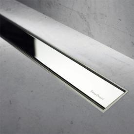 ESS Easy Drain Modulo TAF Zero+ Abdeckung, chrom, erhöht für Duschrinne: 80 cm