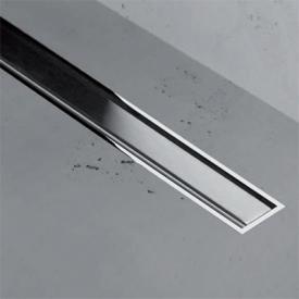 ESS Easy Drain XS TAF Zero+ Z-1 Abdeckung für Duschrinne: 80 cm, edelstahl verchromt / gebürstet
