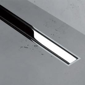 ESS Easy Drain XS TAF Zero+ Z-1 Abdeckung für Duschrinne: 90 cm, edelstahl gebürstet / verchromt