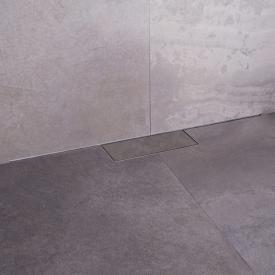 ESS M-Line Duschrinnen-Komplettset inklusive Abdeckung L: 80 cm