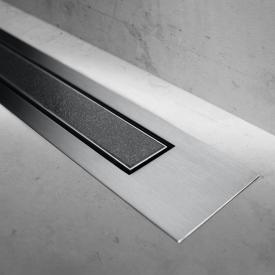 ESS Modulo Design Z-4 Abdeckung befliesbar für Duschrinne: 120 cm, edelstahl gebürstet/befliesbar