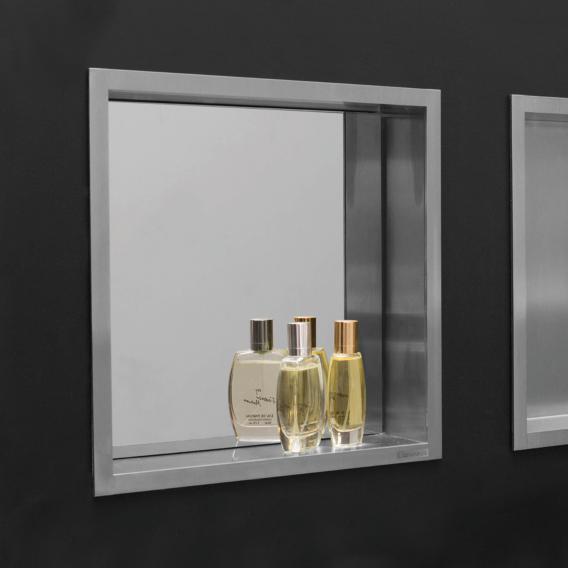 ESS Container BOX Wandnische mit Spiegel und Rahmen