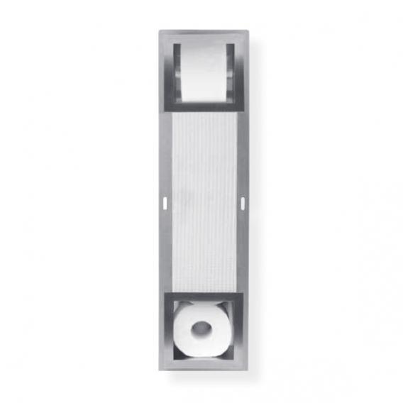 ESS Container Ersatzrollenhalter / 5 Rollen Vorratsbehälter Square B: 195 H: 740 T: 138 mm