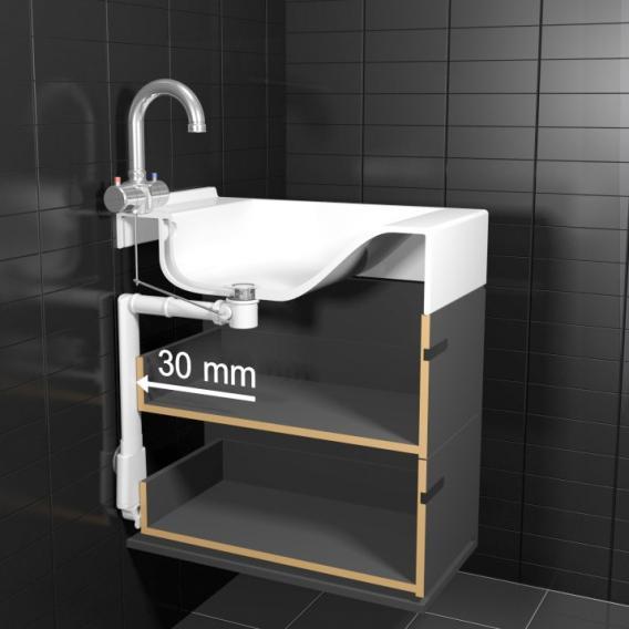 ESS Easy Drain Slim Siphon XF® & Slim Waste® Raumsparsiphon