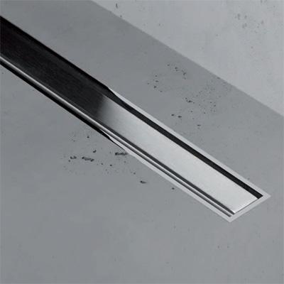 ESS Easy Drain XS TAF Zero+ Z-1 Abdeckung für Duschrinne: 50 cm, edelstahl gebürstet