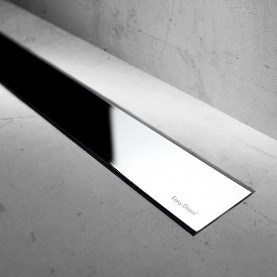 ESS Modulo Basic Zero+ Edelstahl verchromt für Duschrinne: 100 cm