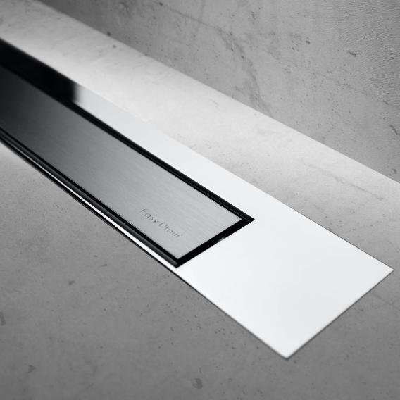 ESS Modulo Design Z-3 Abdeckung für Duschrinne: 100 cm, chrom/edelstahl gebürstet