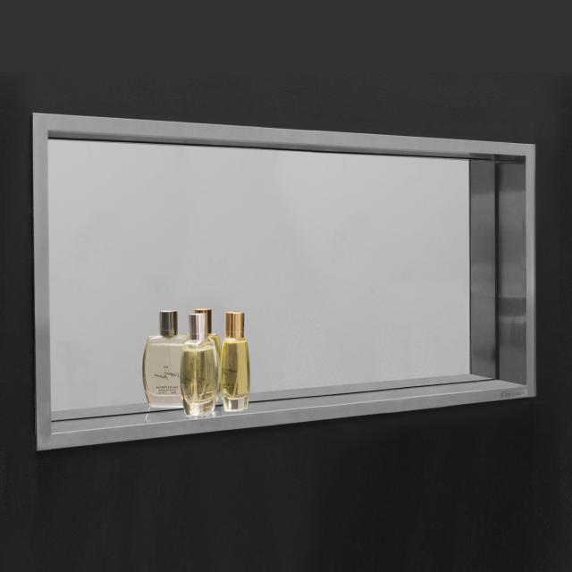 ESS Container BOX Wandnische mit Spiegel und Rahmen, für Nassbau