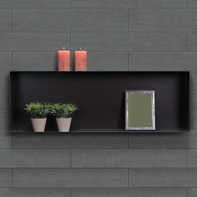 ESS Container C-BOX Wandnische schwarz