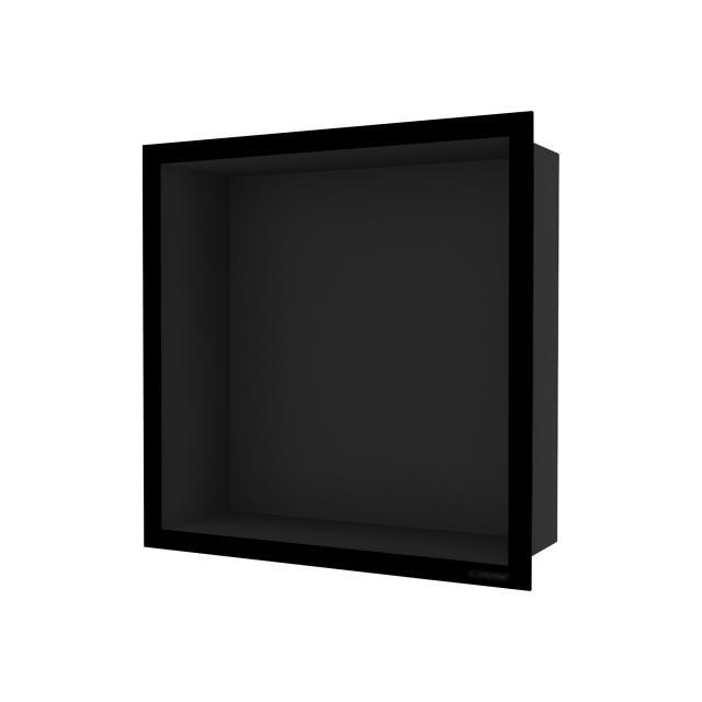 ESS Container F-BOX Wandnische mit NEUEM Rahmen Nische schwarz / Rahmen schwarz