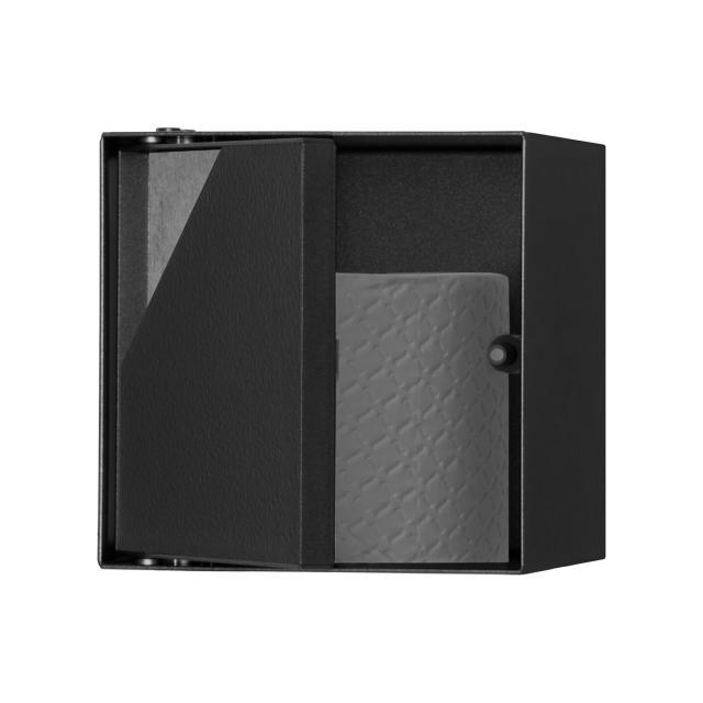 ESS Container T-ROLL Wandnische mit 1 Tür, befliesbar schwarz