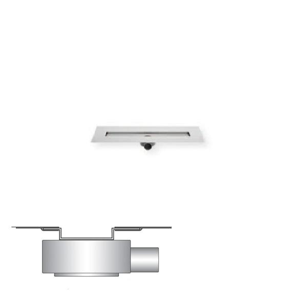 ESS Easy Drain Modulo M-2 Rohbauset L: 80 cm