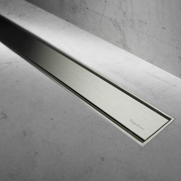 ESS Easy Drain Modulo TAF Zero+ Abdeckung für Duschrinne: 90 cm, edelstahl gebürstet