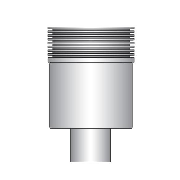 ESS Easy Drain Multi Siphongehäuse Abgang senkrecht DN50
